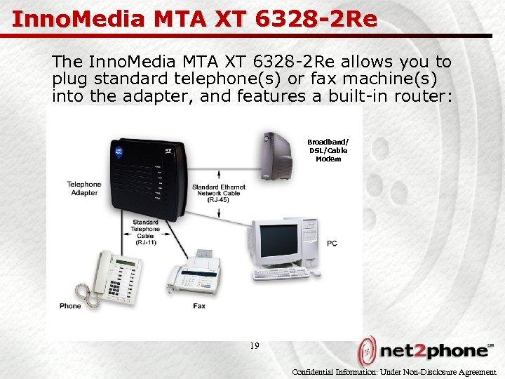 Inno. Media MTA XT 6328 -2 Re The Inno. Media MTA XT 6328 -2