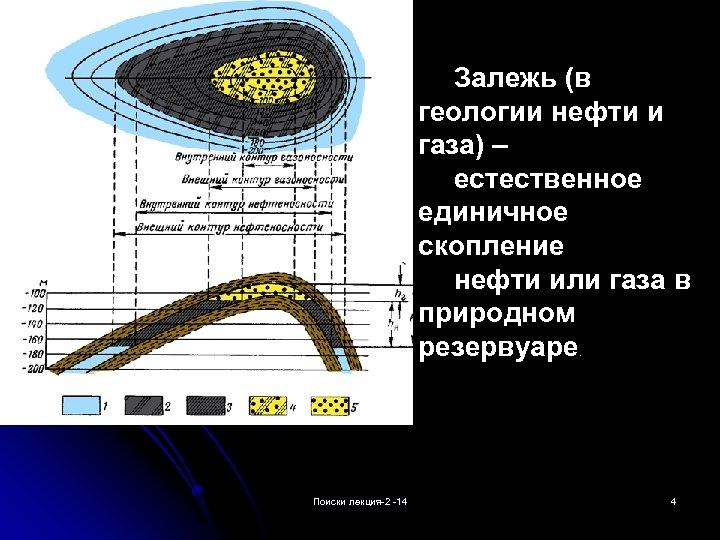 Залежь (в геологии нефти и газа) – естественное единичное скопление нефти или газа в