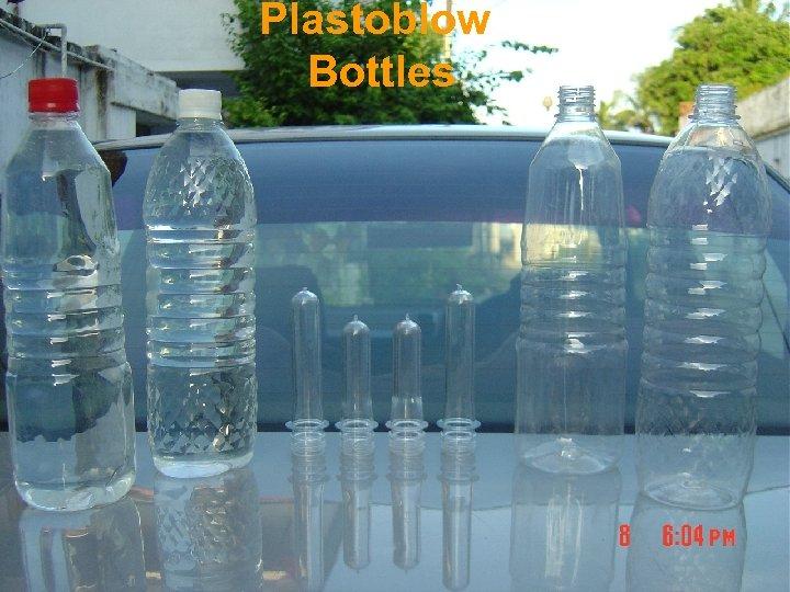 Plastoblow Bottles