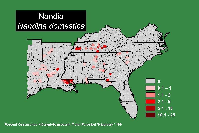 Nandia Nandina domestica 0 0. 1 – 1 1. 1 - 2 2. 1