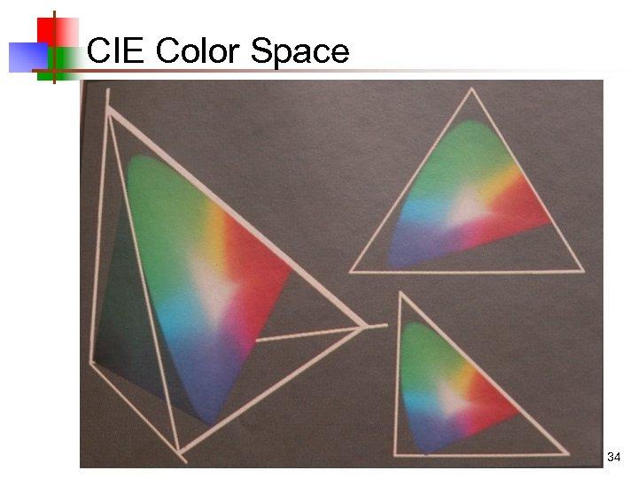 CIE Color Space 34