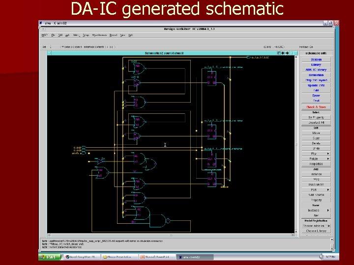 DA-IC generated schematic