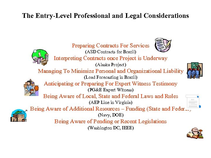 The Entry-Level Professional and Legal Considerations Preparing Contracts For Services (ASD Contracts for Brazil)