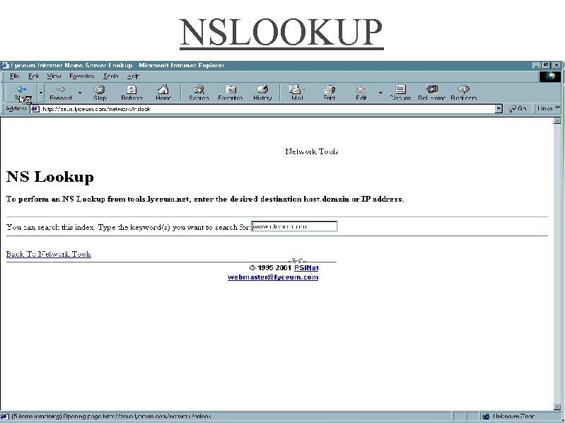 NSLOOKUP 42