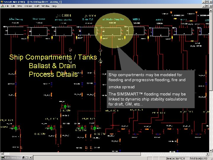 Ship Compartments / Tanks Ballast & Drain Process Details Ship compartments may be modeled