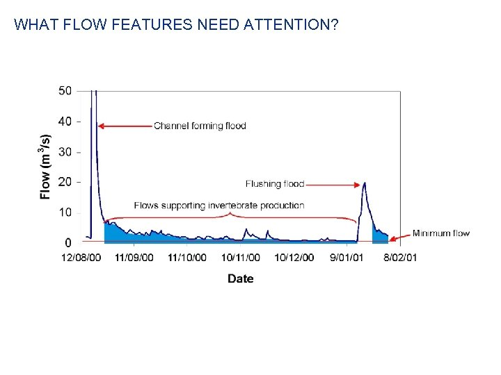 WHAT FLOW FEATURES NEED ATTENTION?