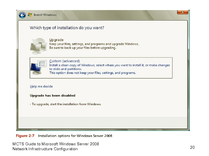 MCTS Guide to Microsoft Windows Server 2008 Network Infrastructure Configuration 20
