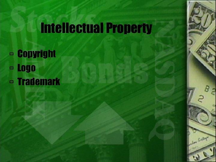 Intellectual Property Copyright Logo Trademark