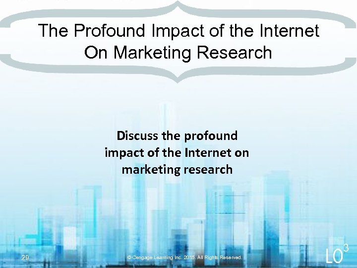 The Profound Impact of the Internet On Marketing Research Discuss the profound impact of