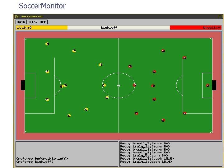 Soccer. Monitor
