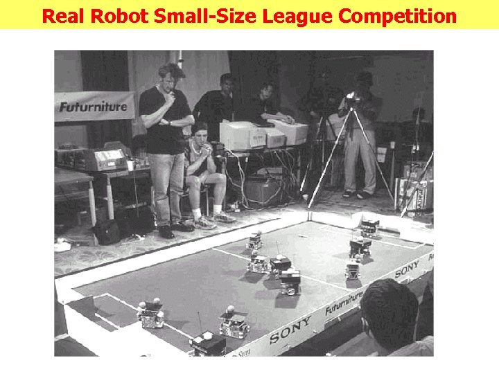 Real Robot Small-Size League Competition