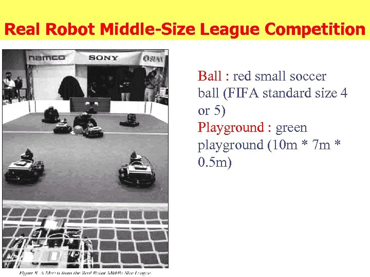 Real Robot Middle-Size League Competition Ball : red small soccer ball (FIFA standard size