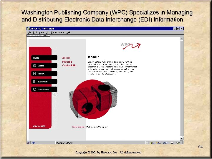Washington Publishing Company (WPC) Specializes in Managing and Distributing Electronic Data Interchange (EDI) Information