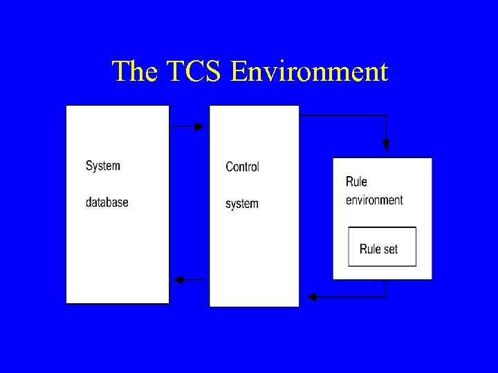 The TCS Environment
