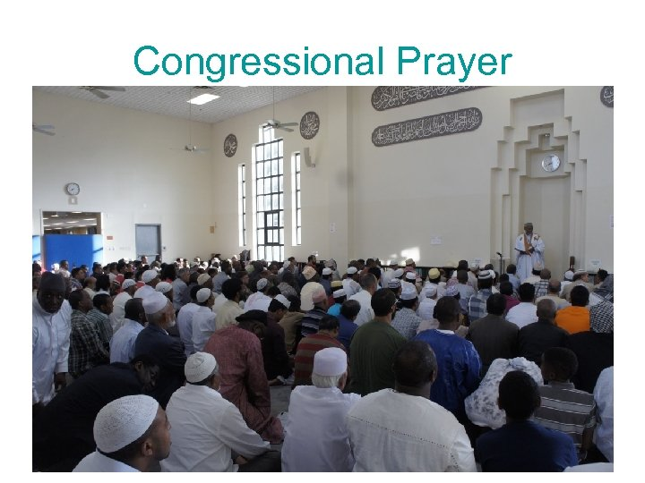 Congressional Prayer