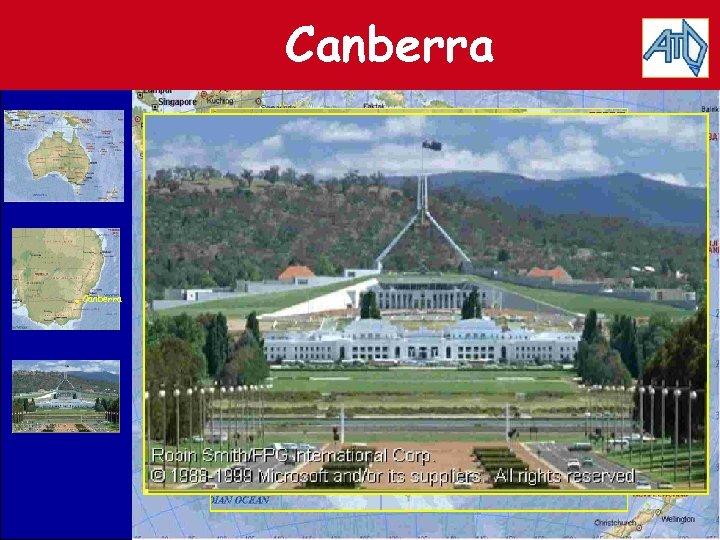 Canberra . Canberra • Canberra