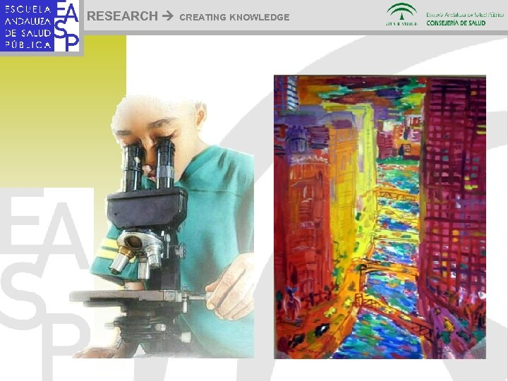 RESEARCH CREATING KNOWLEDGE