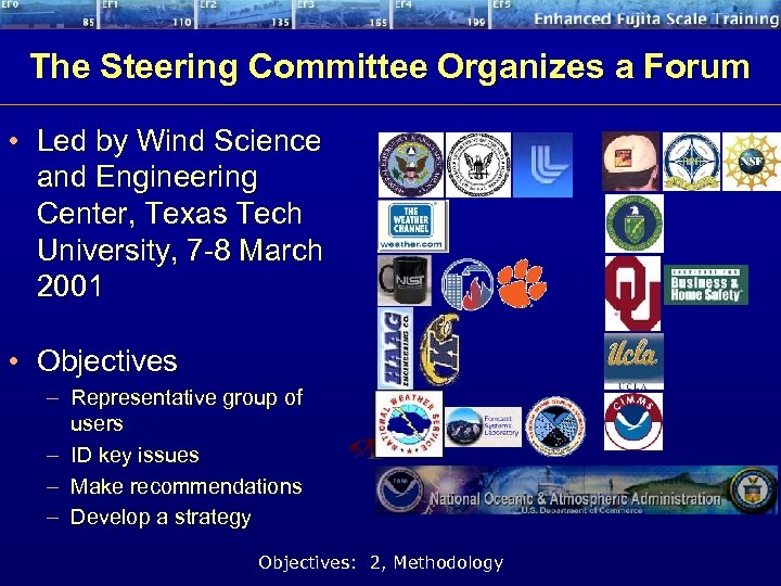 The Steering Committee Organizes a Forum • Led by Wind Science and Engineering Center,
