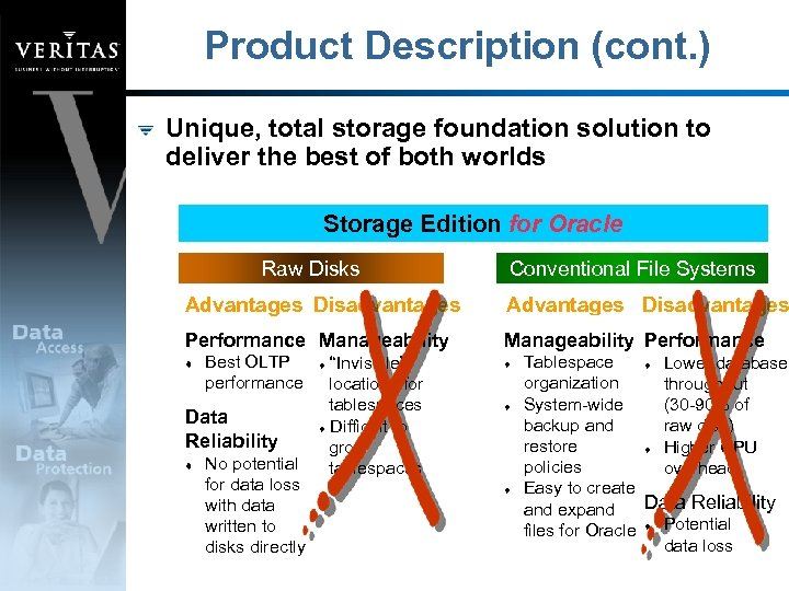 Product Description (cont. ) Unique, total storage foundation solution to deliver the best of
