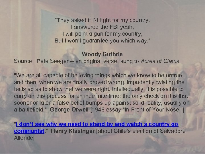 """""""They asked if I'd fight for my country. I answered the FBI yeah, I"""