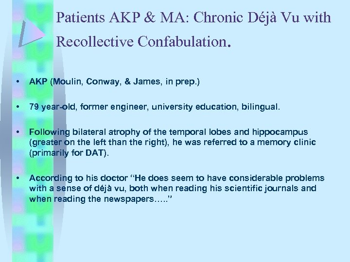 Autobiographical Memory Recollective Experience Martin A Conway