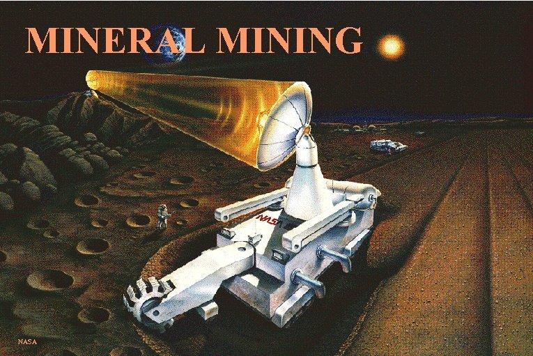 MINERAL MINING NASA