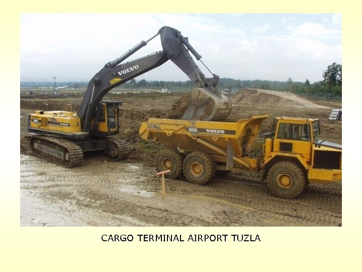 CARGO TERMINAL AIRPORT TUZLA