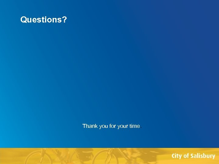 Questions? Thank you for your time. Faculty of Edit this on the Slide Master
