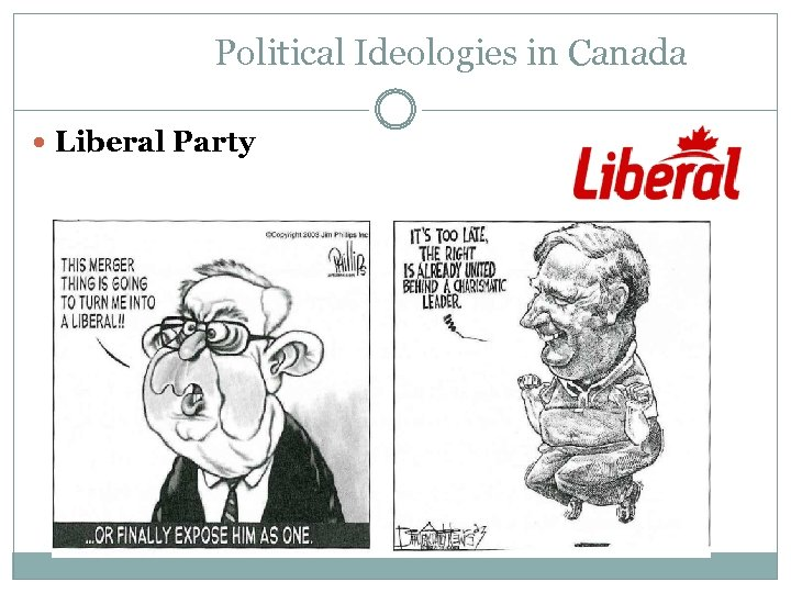 Political Ideologies in Canada Liberal Party
