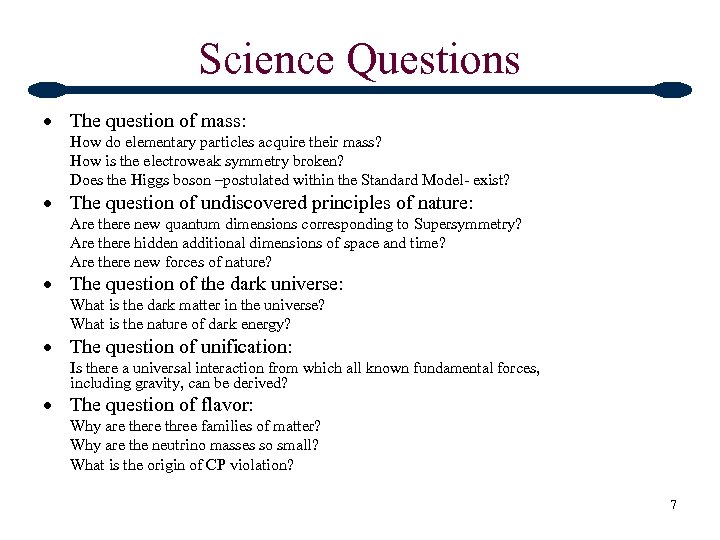 Science Questions The question of mass: How do elementary particles acquire their mass? How