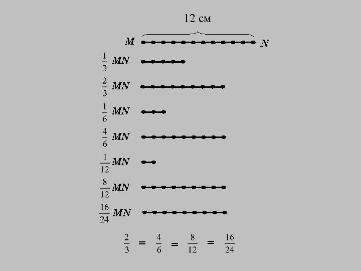 12 см M N MN MN = = =