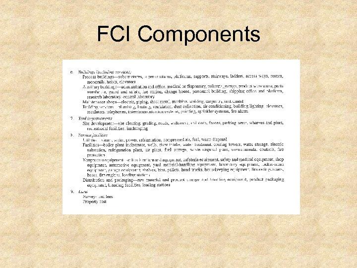 FCI Components