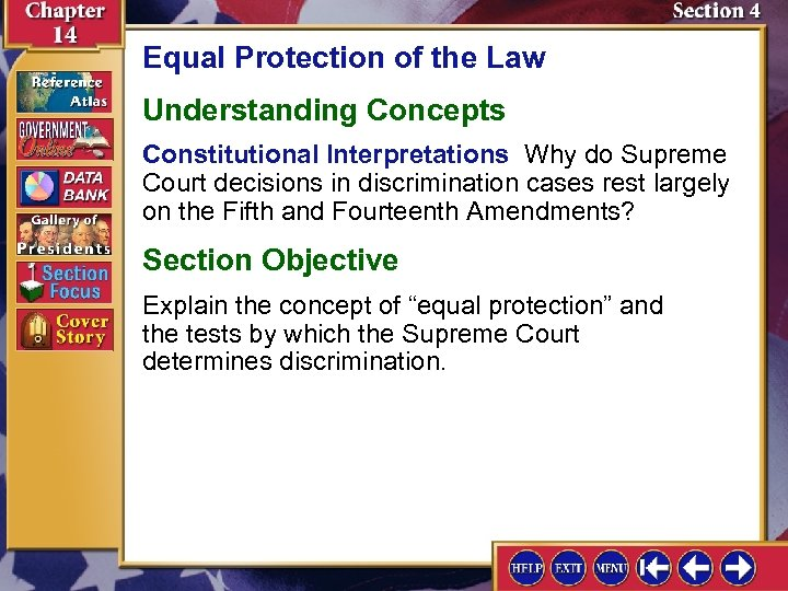 Equal Protection of the Law Understanding Concepts Constitutional Interpretations Why do Supreme Court decisions