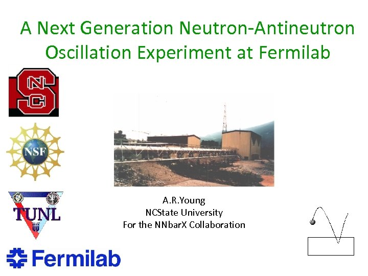 A Next Generation Neutron-Antineutron Oscillation Experiment at Fermilab A. R. Young NCState University For