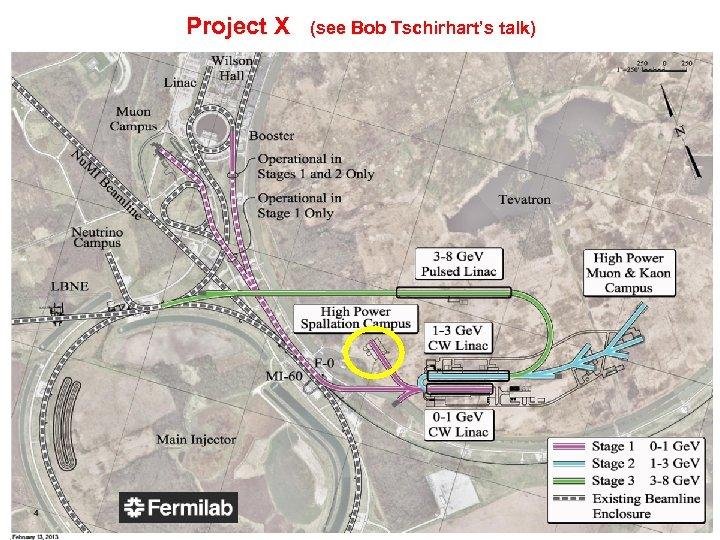 Project X (see Bob Tschirhart's talk) 13