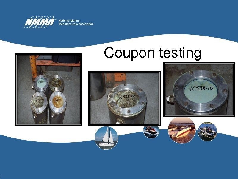 Coupon testing