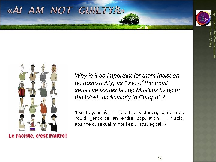 http: //www. homosexuelsmusulmans. org/gay_muslims. html Why is it so important for them insist on