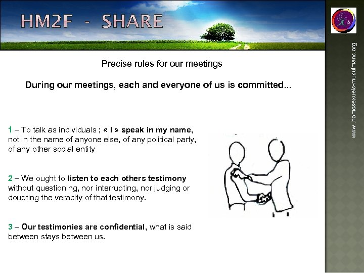 During our meetings, each and everyone of us is committed. . . 1 –
