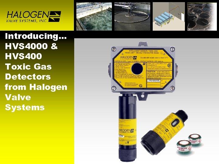 Introducing… HVS 4000 & HVS 400 Toxic Gas Detectors from Halogen Valve Systems