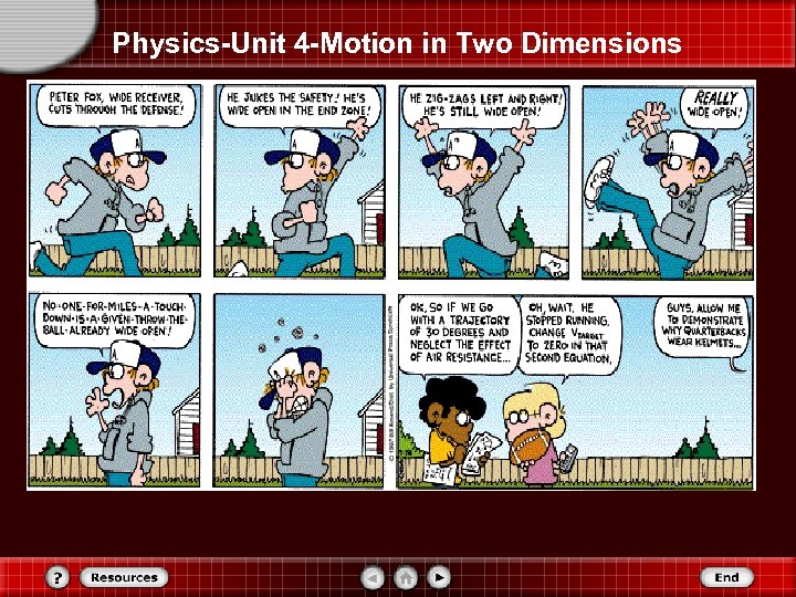 Physics-Unit 4 -Motion in Two Dimensions