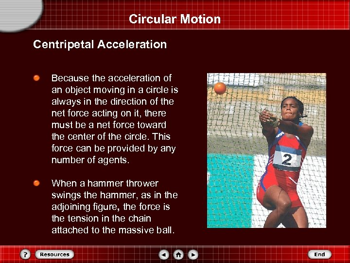 Circular Motion Centripetal Acceleration Because the acceleration of an object moving in a circle