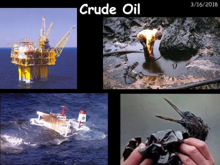 Crude Oil 3/16/2018
