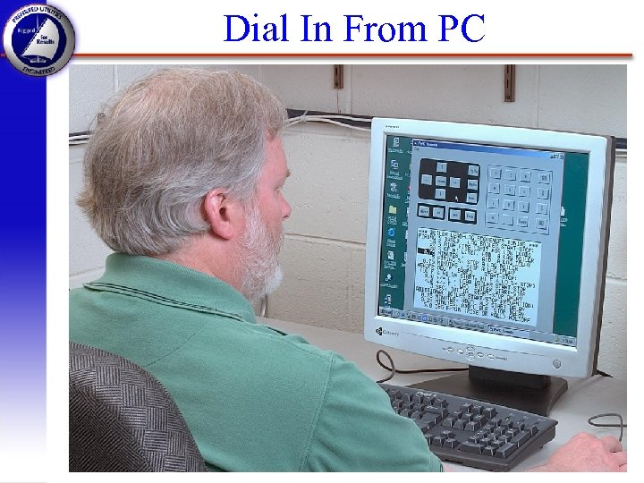 Dial In From PC PWC