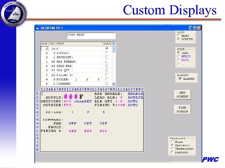 Custom Displays PWC