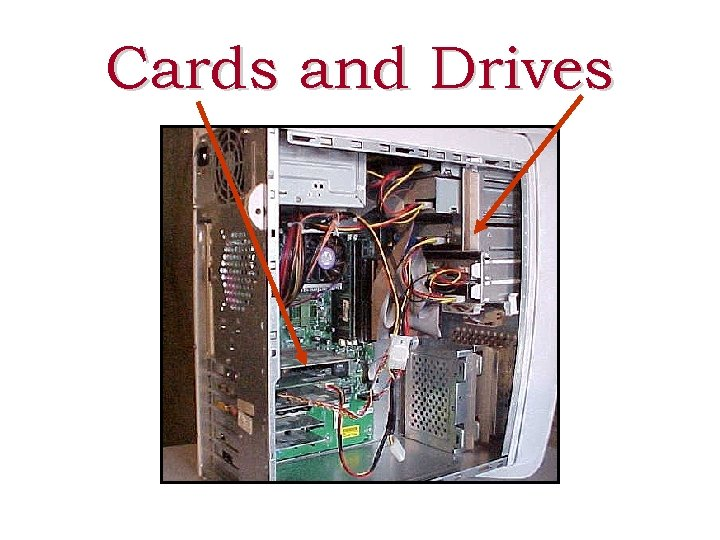 Cards and Drives