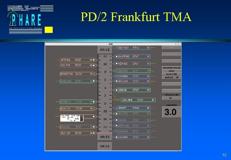 PD/2 Frankfurt TMA 10