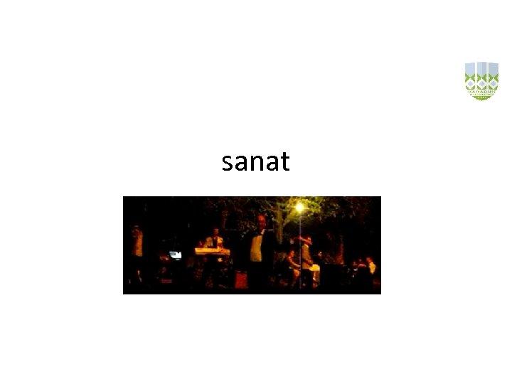 sanat