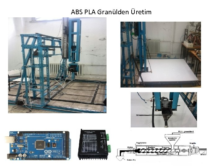 ABS PLA Granülden Üretim