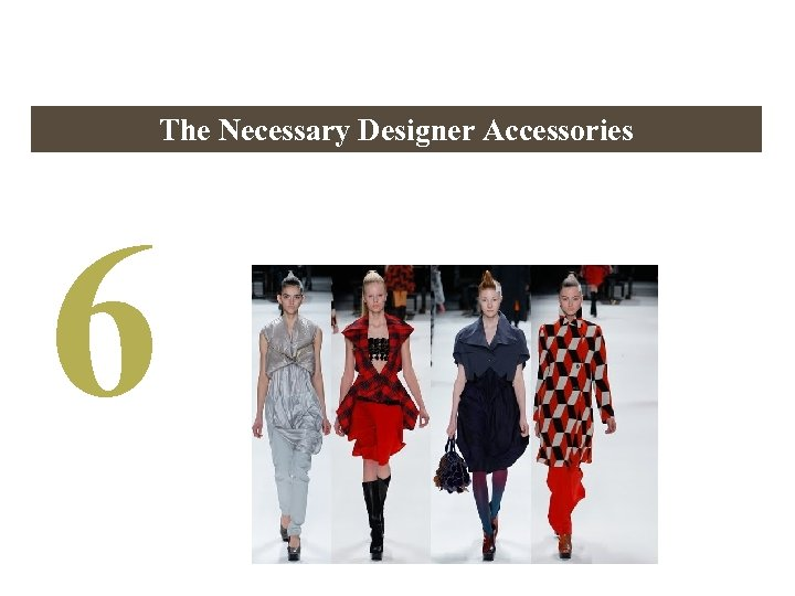 The Necessary Designer Accessories 6