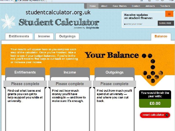 studentcalculator. org. uk
